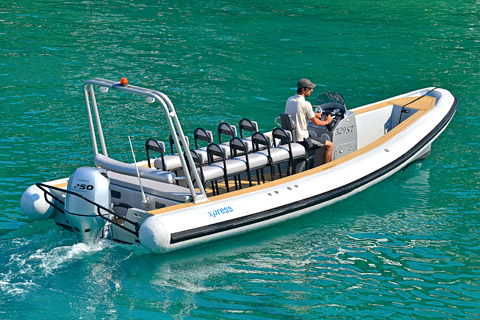 Colnago 26 Taxi Boat