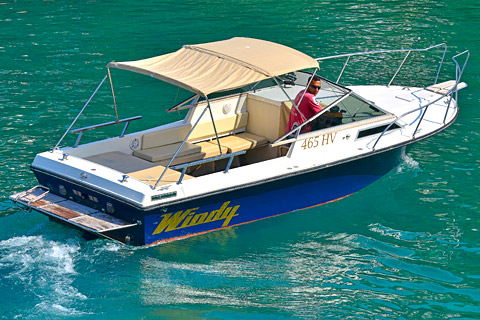 Windy 24 Taxi Boat