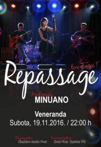 Repassage | 19.11. Hvar